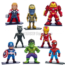 8pc/lot Marvel Avengers Action…