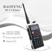 Baofeng UVB2 Plus UV B2 Radio bidirectionnelle double bande VHF/UHF talkie walkie 128CH interphone BF UVB2 jambon CB Radio émetteur récepteur portable