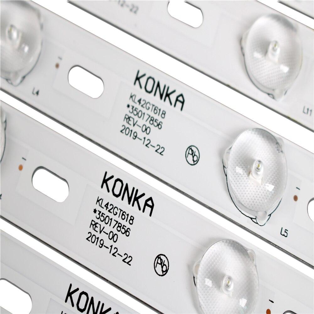 2-Новый 8 шт. 431 мм/435 мм оригинальный светильник Kon ka kl42gt618 35017856 35017847rev-00 смотреть на Алиэкспресс Иркутск в рублях