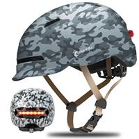 2021 Smart4u Urbane Radfahren MTB Smart Road Helm Elektrische Fahrrad Lampe Racing Motorrad Fahrrad Zurück Licht Kinder Helm Männer Frauen