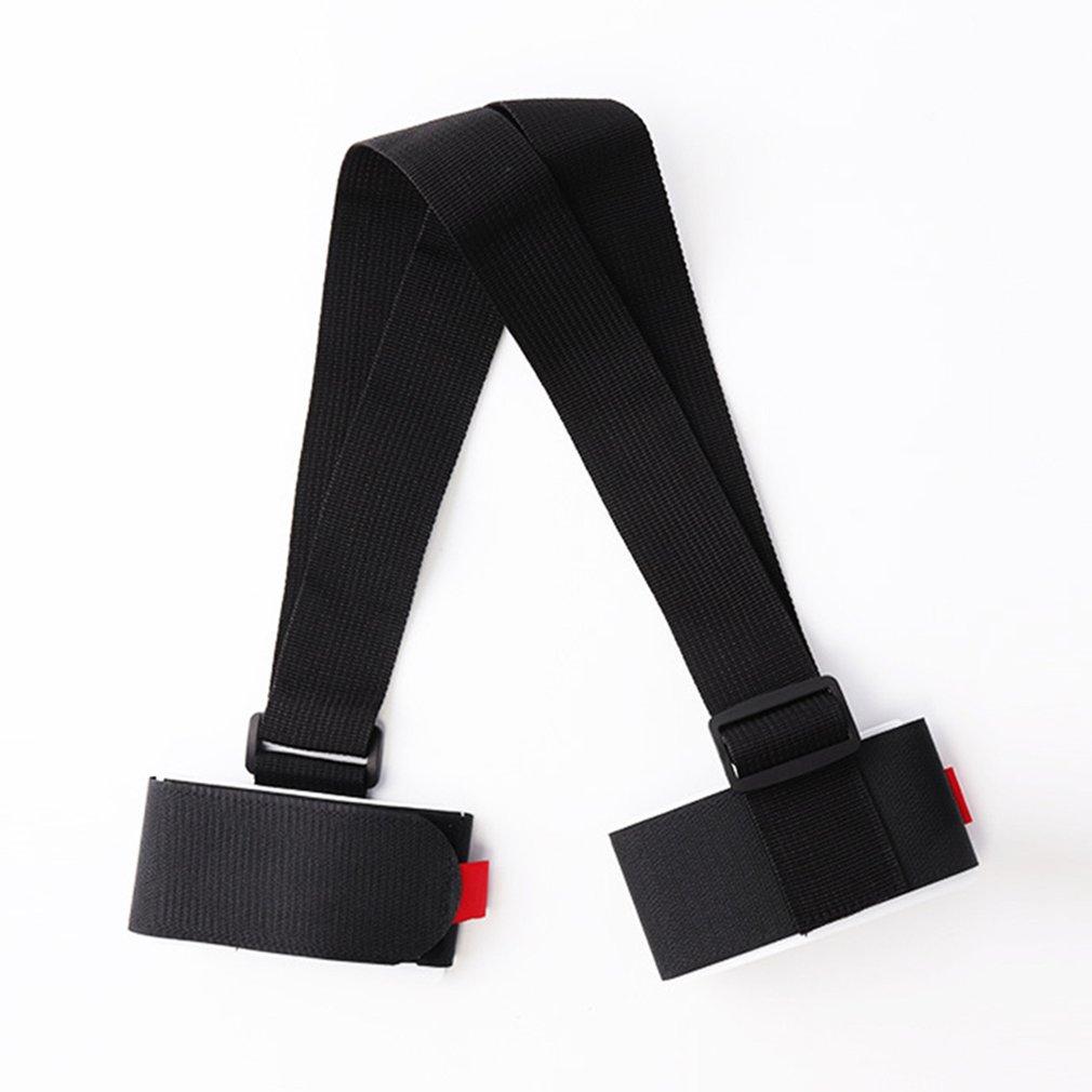 1PC Adjustable Skiing Pole Shoulder Carrier Handle Strap Bag Ski Snowboard Handbag Hand Strap W20