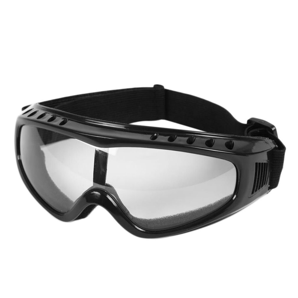Transparent Unisex Safety Goggles Motorcycle Cycling Eye Protection Glasses Tactical Paintball Wind Dust Airsoft Goggles New