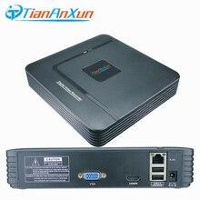 Tiananxun Grabadora de videovigilancia Mini Nvr Onvif, H.265, 16 canales, Nvr, 8Ch, cámara Ip Dvr, 5Mp, 4Mp, 2Mp, grabadora de seguridad Cctv