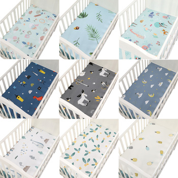 100% Cotton Percale Fitted Portable/Mini Crib Sheet Bed Sheet Fitted Crib Sheet Soft Baby Bed Mattress Cover 130*70 cm наматрасник candide хлопок turquoise cotton fitted sheet 60x120 cm бирюзовый 693988