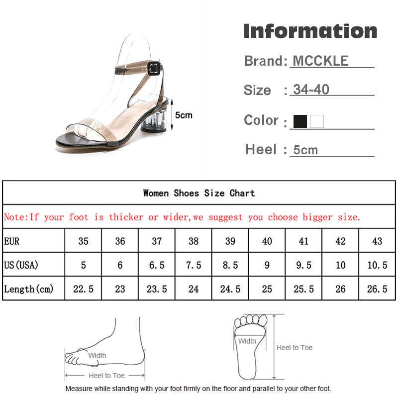 Kadın yaz sandalet kadın taşıma jöle slaytlar kadın ayak bileği sapanlar kadın zarif ayakkabı bayanlar yüksek kalın topuklu yeni 2020