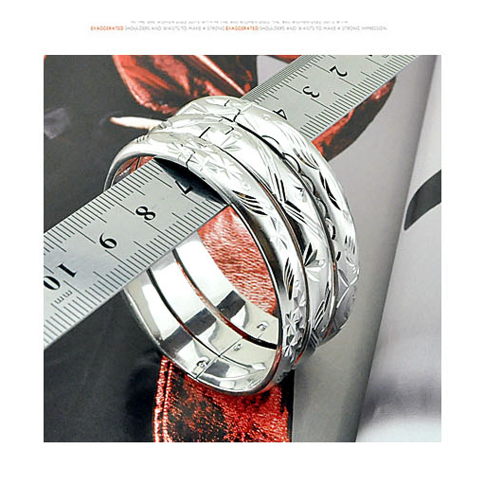 Hot Sale Mode Armreifen Schmuck für Frauen, 925 Sterling Silber - Edlen Schmuck - Foto 4
