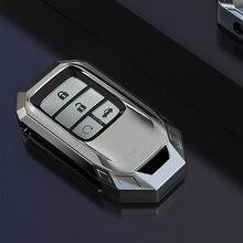 Auto Flip Key Cover Case Geschikt Voor Honda Civic CR V HR V Accord Jade Crider Odyssey 2015  2018 Remote Protector