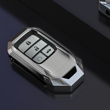 Rabat de voiture etui clés, protecteur de télécommande adapté à Honda Civic CR V, HR V, Accord, Jade Crider, Odyssey, 2015  2018