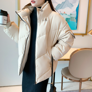 2020 Winter Jacket Women Coats Hooded Jackets Parkas Thick Warm Cotton Padded Female Loose Short Coat Outwear Plus size women s thick warm long winter jacket women parkas hooded cotton padded winter coat female