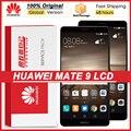 100% оригинал 5,9 ''ЖК дисплей с рамкой для Huawei Mate 9 ЖК-дисплей с сенсорным экраном дигитайзер в сборе MHA-L29 AL09 AL00 ЖК-дисплей Ремонт Запчасти