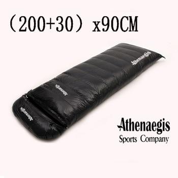 Ultralarge bolsa De Dormir (200 + 30)* 90CM De ganso blanco 2200g/2500g/2800g/3000g...