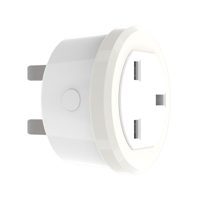 Haozee Z-wave Plus Smart Power Plug UK Socket Smart Home Automation Alarm System Home