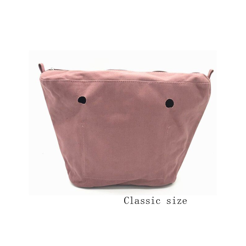 Classic Size Canvas Waterproof Insert Inner Bag Standard Canavs Bag For Obag Classic