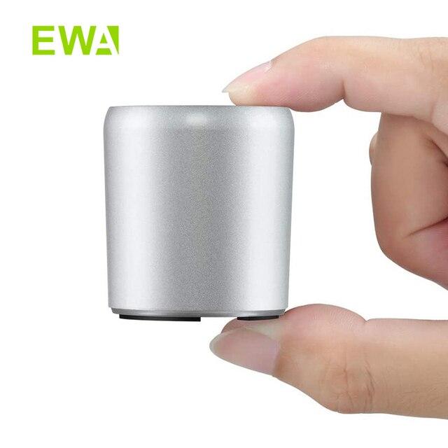 EWA A107s מיני כחול שן רמקול אלחוטי אמיתי סטריאו (TWS) לשפר בס רדיאטור נייד רמקולים Bluetooth 5.0