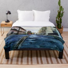 Soft Blanket for Bed Sherpa Flannel Fleece Blanket Home Travel Sofa Soft Throw Blanket Morning After The Rain sheer vice lipstick morning after morning after