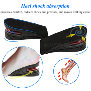 Image 5 - KOTLIKOFF Invisible Height Increase Insole Adjustable 2 Layer 3CM/4.5CM Air Cushion Pads Elevator Soles Insoles inserts For Shoe