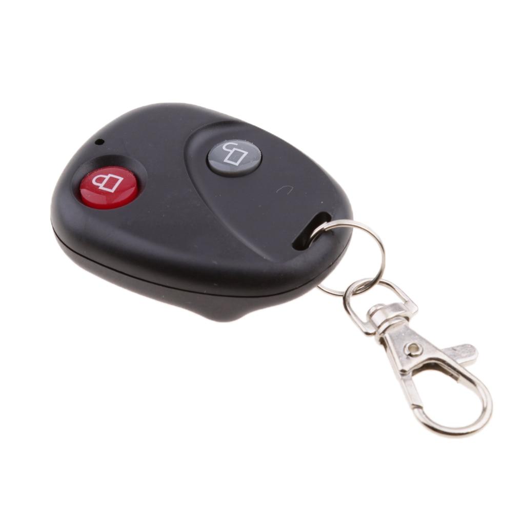 Security Wireless Remote Control Alarm Bike Lock Bike Vibration Anti Theft