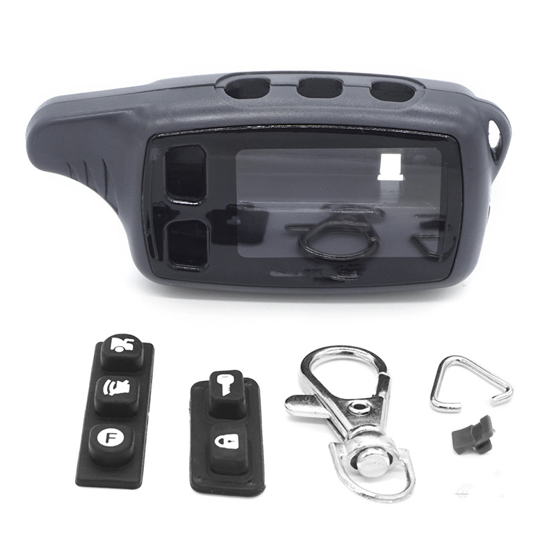 Russia Version DG-9010 Case Keychain For Dagger DG-9010 Lcd Remote Two Way Car Alarm System Free Shipping