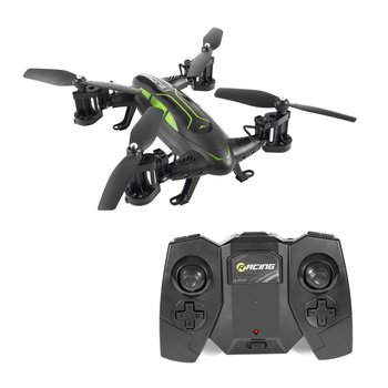 цена FY602 Professional RC Drone  HD Camera Air-Road Double Model Flying Car 2.4G RC Quadcopter  6-Axis 4CH Helicopter Double Sides онлайн в 2017 году