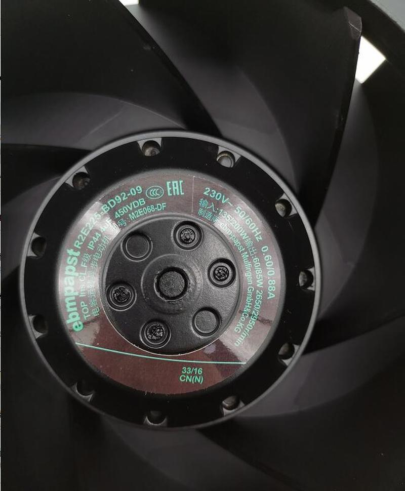 R2E225-BD92-09 230V 85W 4UF Original German Ebmpapst Imported Centrifugal Fan