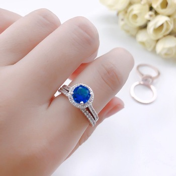Luxury 925 Silver Ring for Women Engagement Wedding Rings AAA Zircon Diamond Bridal Band Rose Gold Gemstone Fine Jewelry Gift 5
