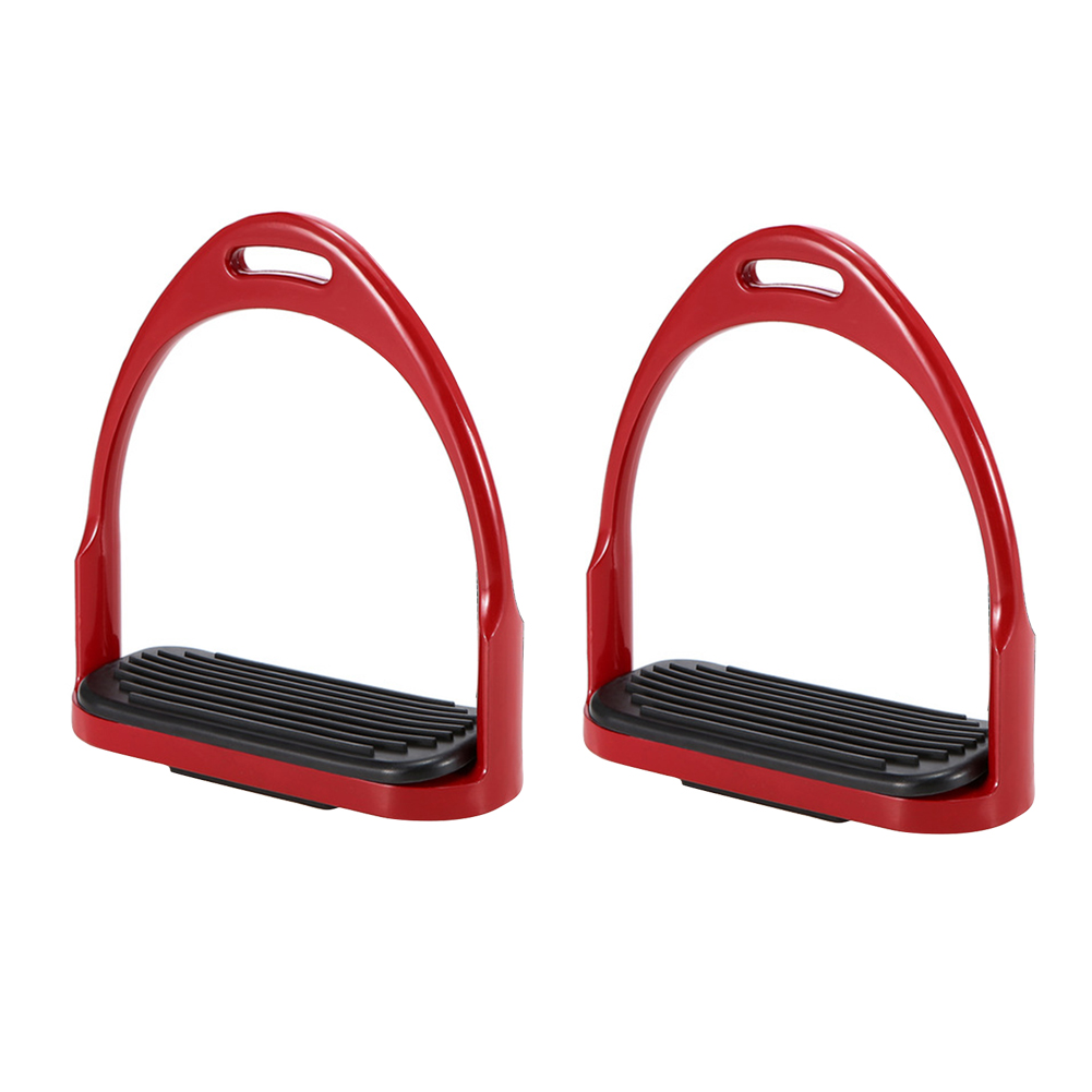 1pair Children Adults Wide Track Horse Stirrup Safety Equipment Lightweight Non Slip Outdoor Aluminum Pedal Replacement Part