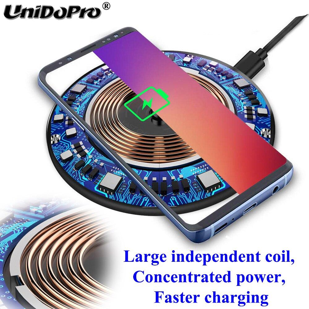Image 4 - Qi 15W Fast Wireless Charger Pad w/ QC 3.0 EU AC Adapter for  Blackview BV9900 BV9800 BV9700 BV9600 BV6800 BV5800 Pro BV9500 Plus  -