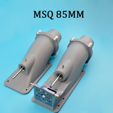 MSQ Good Quality Grey 85mm Water Jet Thruster With 8mm stainless steel  Shaft  For Boat Surfboard Rc Model Boat