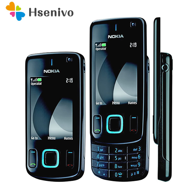 Refurbished original phone Nokia 6600 slide refurbished cell phone Black color in Stock refurbished image