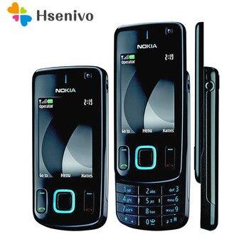 Refurbished original phone Nokia 6600 slide refurbished cell phone Black color in Stock refurbished