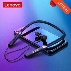 Lenovo HE05 Draadloze Bluetooth Koptelefoon BT5.0 Sport Running Headset IPX5 Waterdichte Sport Oortelefoon Magnetische Headset Met Microfoon