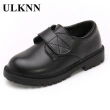 ULKNN 2020 nowych dzieci skórzane buty ślubne buty dla chłopców dzieci przedstawienie szkolne czarne obuwie dziecięce mokasyny tanie tanio Krowa mięśni Dziewczyny Pasuje prawda na wymiar weź swój normalny rozmiar 10 t 11 t 12 t 13 t 14 t 14 T Prawdziwej skóry