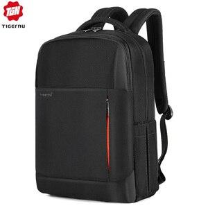 Image 1 - Tigernu New Multifunction Men Bag USB Charging Travel Backpack Male Laptop Backpack Bag  For Teenager Rucksack