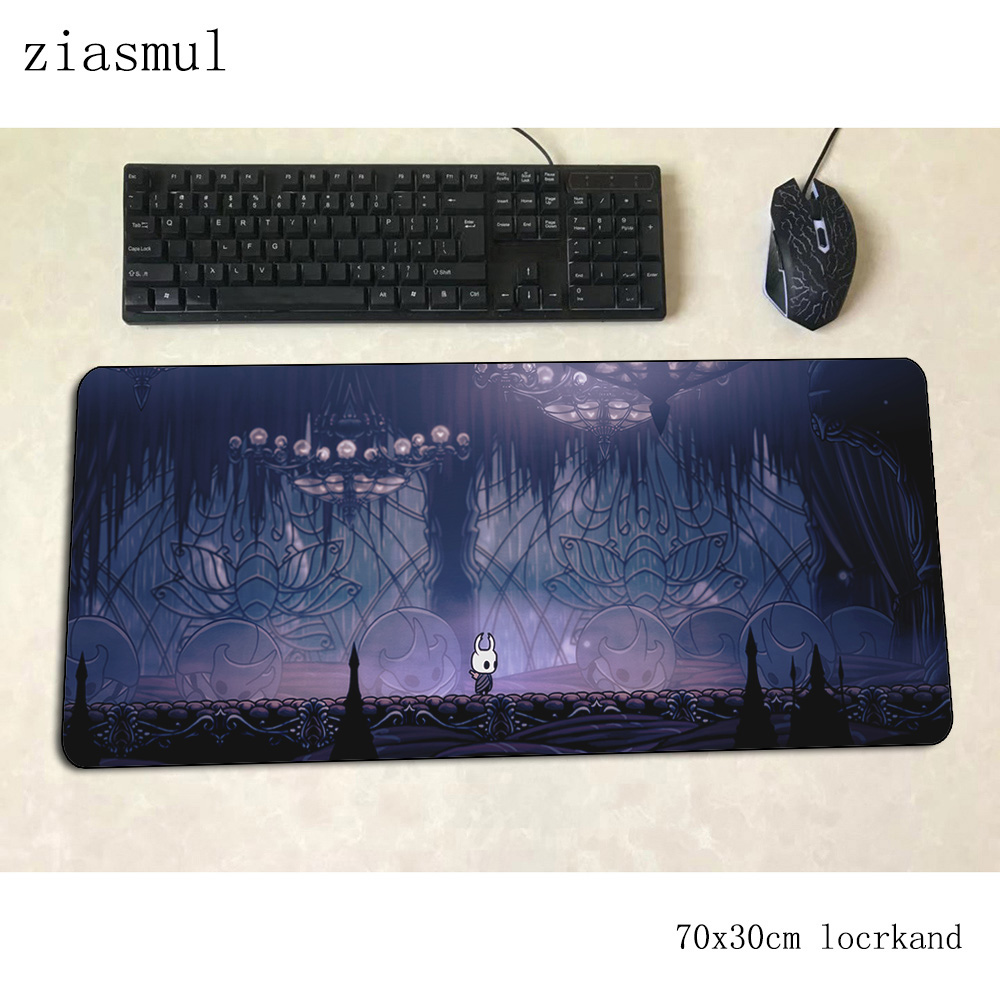 Hollow Knight Mouse Pad Gamer Large 70x30cm Gaming Mousepad Pc Notbook Desk Mat Cute Padmouse Games Popular Gamer Mats Gamepad