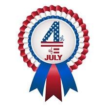 2pc julho 4th coleta de vidro adesivos independência dia feriado projeto quarto de julho jardim de infância artesanato decoração para casa