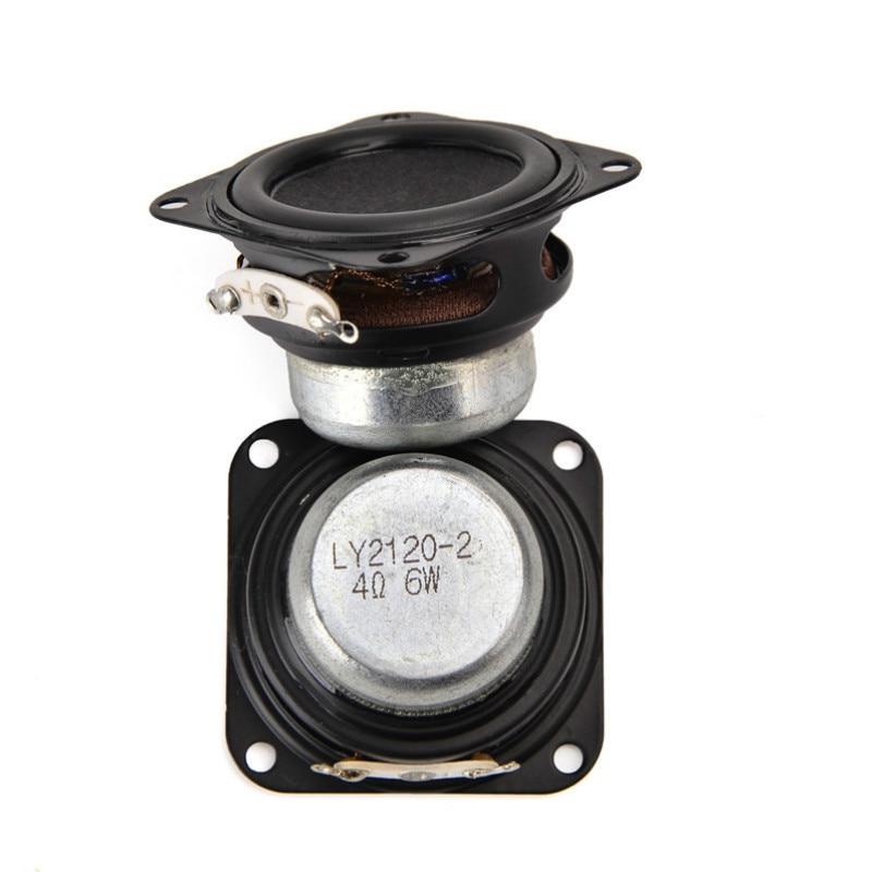 SOTAMIA 2Pcs 40mm Mini Audio Sound Full Range Speaker Column DIY Stereo Bluetooth Music Speaker 4 Ohm 6W Multimedia Loudspeaker