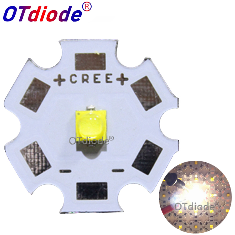 1pcs Cree Xlamp XP-G3 XPG3 White 6500k 5A3 S4 4000-4300K LED Chips LEDs Diode Cool White Emitter With 20mm 16mm 14mm8mm PCB