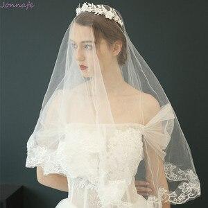 Image 5 - Flor de porcelana de moda, corona de boda, Tiara para el cabello nupcial, tocado de hojas de Color plateado, accesorios para baile de graduación, joyería para el cabello
