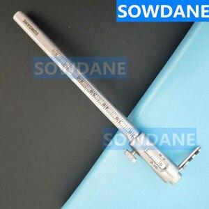 Image 2 - العناية بالفم تبييض الأسنان انزلاق الفرجار قياس أداة قياس الأسنان الأسنان الفرجار حاكم 0 95 مللي متر الفولاذ المقاوم للصدأ