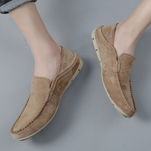 Big Size 47 Men Loafers Soft Slip On Moccasins High Quality Spring Autumn Genuine Leather Shoes Men Flats Driving Shoes Zapatos mycolen spring high quality genuine leather shoes men flats fashion loafers mens flats slip on driving shoes male brand shoes