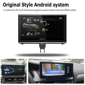 Image 5 - Radio Multimedia con GPS para coche, Radio con reproductor, Android 9,0, 4 + 64, navegador, pantalla táctil, estéreo, para Audi A7 4G8 2010 ~ 2017 MMI