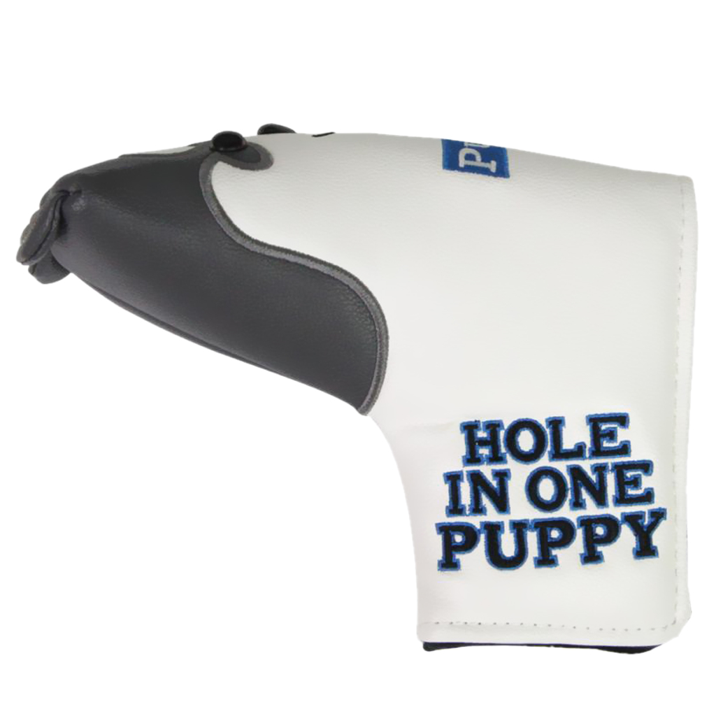 Durable Golf Headcover Cute Huskie Shape Club Blade Putter Covers Dog Puppy