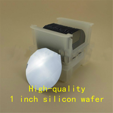 1 inch silicon wafer / Double-sided polishing /Single-sided polishing/ Intrinsic wafer / Prime grade / IC semiconductor grade