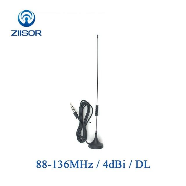Auto antena radiowa fm z podstawa magnetyczna Radio samochodowe stacja radiowa antena odtwarzacz CD antena uniwersalny adapter Z133 B100DL30