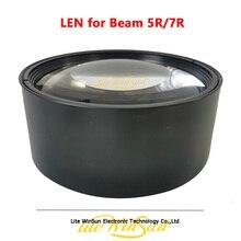 Оптический Объектив для Sharp Beam 5R R7, движущаяся головка, световой луч 200 Вт, 230 Вт, заменяемый объектив