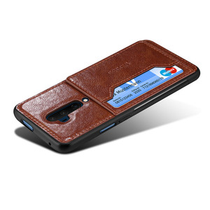 Oneplus 7T Case Leather Card W