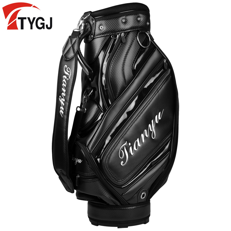 Waterproof Complete Golf Set Stand Bag Mens Anti-Friction Golf Caddy Bag Golf Cart Bag Lightweight Staff Golf Package 1