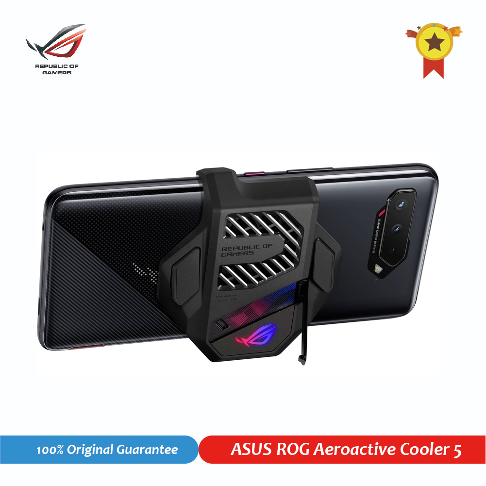 Aero-enfriador activo oficial 5 para ASUS ROG Phone 5 3, accesorios para teléfonos móviles, ventilador de refrigeración para ROG 5 Republic of Gamers 1