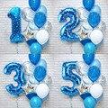 12 шт., 1-е, 3-е, строительное оформление для дня рождения, детские украшения для вечерние для маленьких мальчиков и девочек, мой 1, первая постав...