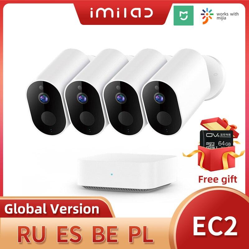 Imilab ec2 câmera de cctv em casa câmera 1080p hd wifi câmeras ao ar livre sem fio casa inteligente ip câmera visão noturna câmera de vigilância